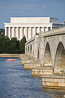Memorial Bridge Lincoln Memorial Washington DC