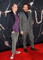 """LOS ANGELES, USA. October 30, 2019: Mike Flanagan & Ewan McGregor at the US premiere of """"Doctor Sleep"""" at the Regency Village Theatre.<br /> Picture: Paul Smith/Featureflash"""