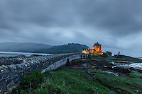 View of the Eilean Donan Castle, known from the Hollywood movie Highlander, Loch Duich, Scotland on 2015/06/08. Foto EXPA/ JFK/Insidefoto