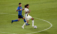Carson, CA - April 7, 2017: The Los Angeles Galaxy defeated the Montreal Impact 2-0 with Jermaine Jones adding a goal in a Major League Soccer (MLS) game at StubHub Center.
