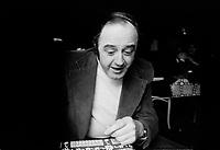 ARCHIVE -<br /> Raymond Levesque,<br /> en Mars 1976<br />  (date exacte inconue)<br /> <br /> Photo : Agence Quebec Presse  - Alain Renaud
