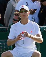 21-06-11, Tennis, England, Wimbledon, Rik de Voest