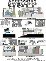 Brandon Ebel, NewSchool of Architecture & Design, received Honorable Mention in Student category of FSDA's ADU Competition 2004.