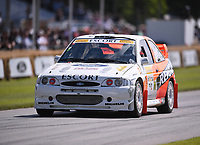9th July 2021;  Goodwood  House, Chichester, England; Goodwood Festival of Speed; Day Two; Nick Jarvis drives a Ford Escort Cosworth in the Goodwood Hill Climb