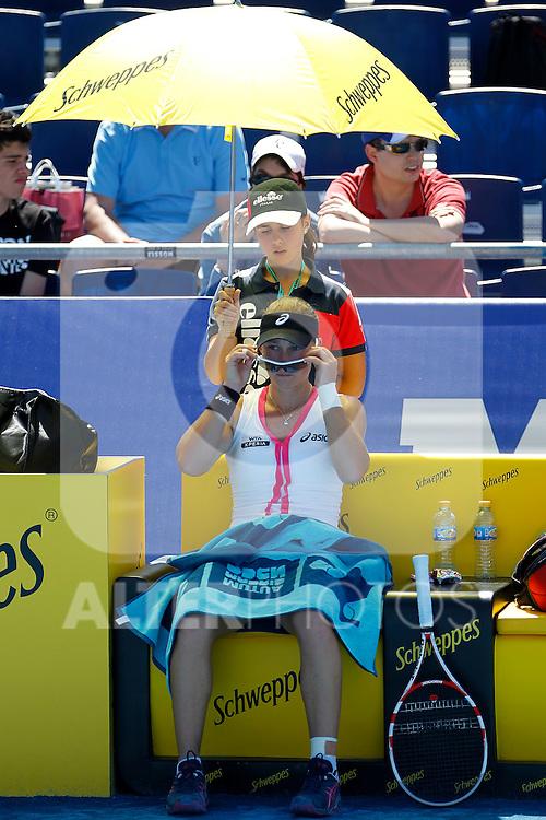 Samantha Stosur during Madrid Open Tennis 2012 Match.May, 9, 2012(ALTERPHOTOS/ALFAQUI/Acero)