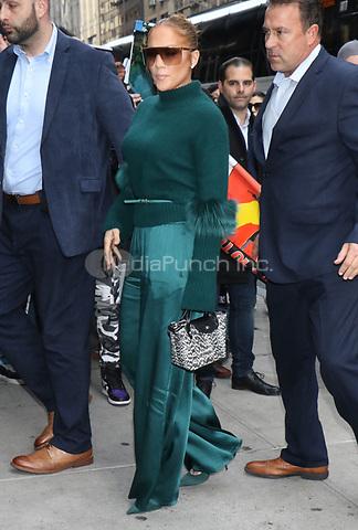 NEW YORK, NY- November 11: Jennifer Lopez at the BAFTA screening of Hustlers at the DGA Theater in New York City on November 11, 2019. Credit: RW/MediaPunch