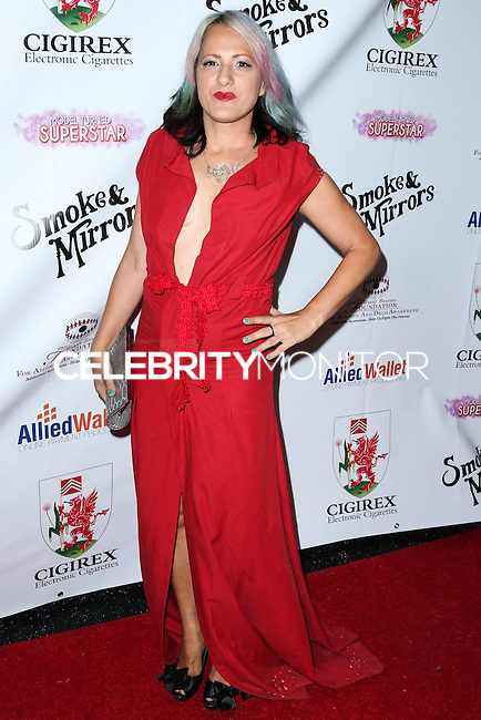 BEVERLY HILLS, CA, USA - SEPTEMBER 13: K'Sandra arrives at the Brent Shapiro Foundation For Alcohol And Drug Awareness' Annual 'Summer Spectacular Under The Stars' 2014 held at a Private Residence on September 13, 2014 in Beverly Hills, California, United States. (Photo by Xavier Collin/Celebrity Monitor)
