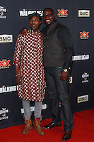 UNIVERSAL CITY, CA, USA - OCTOBER 02: Dohn Norwood arrives at the Los Angeles Premiere Of AMC's 'The Walking Dead' Season 5 held at AMC Universal City Walk on October 2, 2014 in Universal City, California, United States. (Photo by David Acosta/Celebrity Monitor)