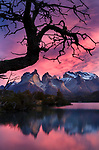 Lago Nordenskjold, Cuernos del Paine, Torres del Paine National Park, Chile<br /> <br /> These rugged pinnacles are a testament to the forces of nature: volcanic rock carved by ancient glaciers, layered with sediment, then eroded by the elements.