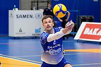 06-03-2021: Volleybal: Amysoft Lycurgus v Active Living Orion: Groningen Lycurgus speler Thomas - Douglass-Powell