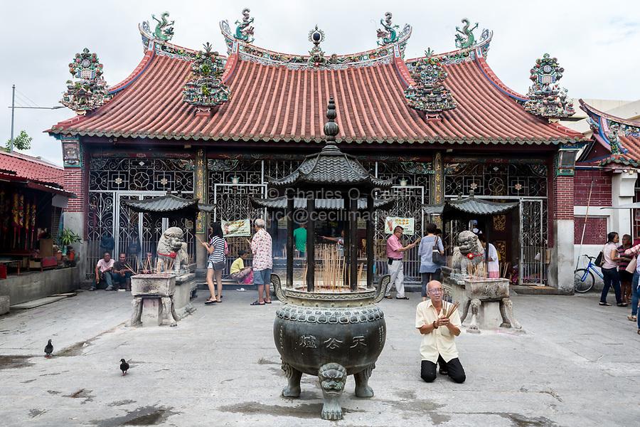 George Town, Penang, Malaysia.  Goddess of Mercy Temple, Kuan Yin Teng, Kong Hock Keong.