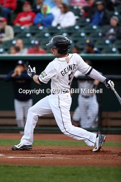 Scooter Gennett -2015 Colorado Springs Sky Sox (Bill Mitchell)