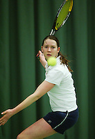 10-3-06, Netherlands, tennis, Rotterdam, National indoor junior tennis championchips, Myrthe Pelskamp