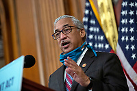 United States Representative Bobby Scott (Democrat of Virginia) speaks during a news conference on the Affordable Care Enhancement Act at the United States Capitol in Washington D.C., U.S., on Wednesday, June 24, 2020.  Credit: Stefani Reynolds / CNP/AdMedia