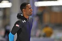 SCHAATSEN: BERLIJN: Sportforum, 06-12-2013, Essent ISU World Cup, 1500m Men Division A, Shani Davis (USA), ©foto Martin de Jong