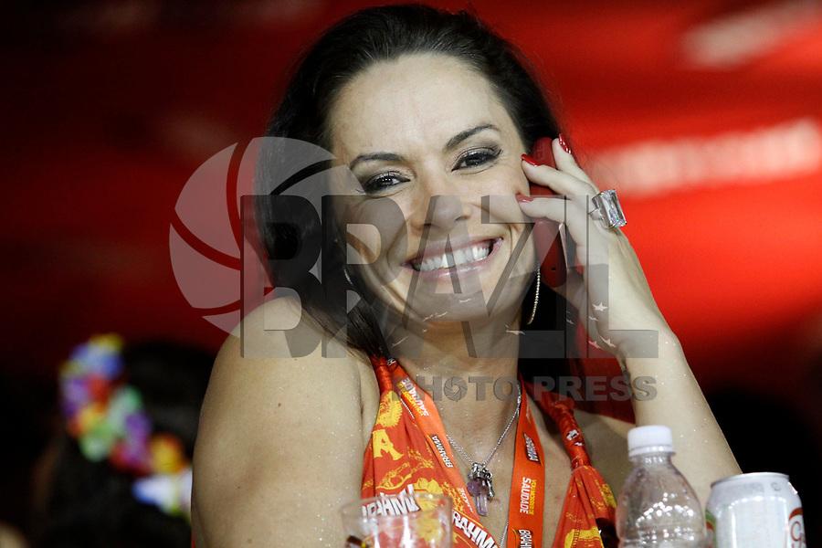 RIO DE JANEIRO, RJ, 07 DE MARÇO DE 2011 - CARNAVAL RJ - CAMAROTES - Nubia Oliver é vista em camarote, no primeiro dia de Desfile das Escolas de Samba do Grupo Especial do Rio de Janeiro, na Marquês de Sapucaí (Sambódromo), no centro da cidade, na noite madrugada desta segunda-feira (7). (FOTO: VANESSA CARVALHO / NEWS FREE).