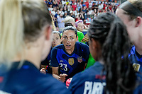 HOUSTON, TX - JUNE 13: Christen Press #23 of the United States during a game between Jamaica and USWNT at BBVA Stadium on June 13, 2021 in Houston, Texas.