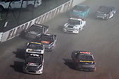 #54: Kyle Strickler, DGR-Crosley, Toyota Tundra DGR-Crosley Driver Development and #99: Ben Rhodes, ThorSport Racing, Ford F-150 Carolina Nut