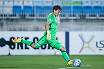 Suwon Goalkeeper Shin Hwayong in action during the AFC Champions League 2017 Group G match between Suwon Samsung Bluewings (KOR) vs Kawasaki Frontale (JPN) at the Suwon World Cup Stadium on 25 April 2017, in Suwon, South Korea. Photo by Yu Chun Christopher Wong / Power Sport Images