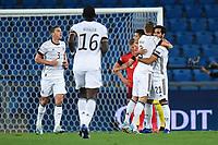 Torjubel nach dem 0-1: Leroy Sane (Deutschland) und Torschuetze Ilkay Guendogan (Deutschland).<br /> <br /> Sport: Fussball: UEFA Nations League: 2. Spieltag: Schweiz - Deutschland, 06.09.2020<br /> <br /> Foto: Markus Gilliar/GES/POOL/Marc Schüler/Sportpics.de