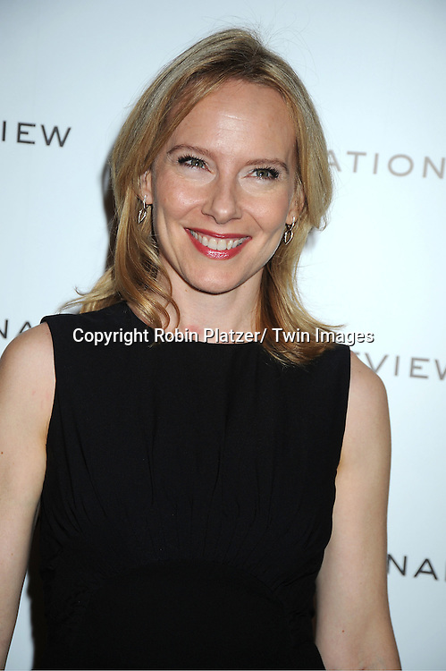 Amy Ryan attends The National Board of Review Film Awards Gala on January 10, 2012 at Cipriani 42nd Street in New York City.