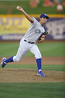 Omaha Storm Chasers pitcher Jake Odorizzi #27 throws a pitch during the game against the Reno Aces at Werner Park on August 3, 2012 in Omaha, Nebraska.(Dennis Hubbard/Four Seam Images)