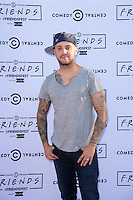 Damien O'Brien<br /> at the launch party for Comedy Central's FriendsFest, presented by The Luna Cinema at Haggerston Park.<br /> <br /> ©Ash Knotek  D3146  23/08/2016