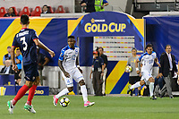 Harrison, NJ - Friday July 07, 2017: Romell Quioto during a 2017 CONCACAF Gold Cup Group A match between the men's national teams of Honduras (HON) vs Costa Rica (CRC) at Red Bull Arena.
