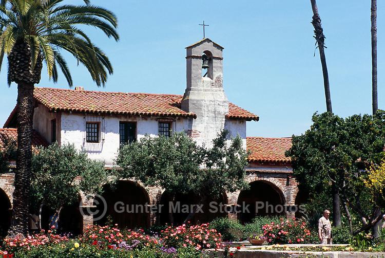 Mission San Juan Capistrano, San Juan Capistrano, California, USA - Historic Landmark founded 1776