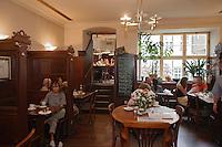 Europe/Allemagne/Bade-Würrtemberg/Heidelberg: Café -Bar à vin-Weinstube, Café restaurant Burkardt