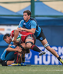 Japan vs Uruguay during the Day 1 of the IRB Junior World Rugby Trophy 2014 at the Hong Kong Football Club on April 7, 2014 in Hong Kong, China. Photo by Aitor Alcalde / Power Sport Images