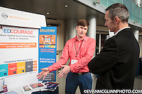 Seattle, WA., October 28, 2104:  the SVP Fast Pitch competition at McCaw Hall in Seattle. Photograph by Evan McGlinn.