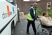 Door to Door transport service at Lewisham Day Centre, Deptford