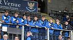 St Johnstone v Sunderland….15.07.17…. McDiarmid Park…. Pre-Season Friendly<br />U20 players from left, Ciaran Brian, Ben Quigley, Danny Jardine, Cameron Ballantyne, Jamie MacKenzie, Jack Wilson, Jamie Docherty and Ally McCann<br />Picture by Graeme Hart.<br />Copyright Perthshire Picture Agency<br />Tel: 01738 623350  Mobile: 07990 594431