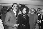 VITTORIO E PAOLA GASSMAN CON FRANCO ROSI -  PREMIO VALENTINO LECCE 1981