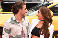 "Kem Cetinay and Amber Davies<br /> attending the premiere of ""Logan Lucky"" at the Vue West End, Leicester Square, London. <br /> <br /> <br /> ©Ash Knotek  D3295  21/08/2017"
