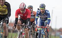 Guillaume Van Keirsbulck (BEL/Wanty Groupe -Gobert)  <br /> <br /> 1st Dwars door West-Vlaanderen 2017 (1.1)