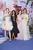 """Ellie Bamber, Misty Copeland, Mackenzie Foy and Keira Knightley<br /> arriving for the European premiere of """"The Nutcracker and the Four Realms"""" at the Vue Westfield, White City, London<br /> <br /> ©Ash Knotek  D3458  01/11/2018"""