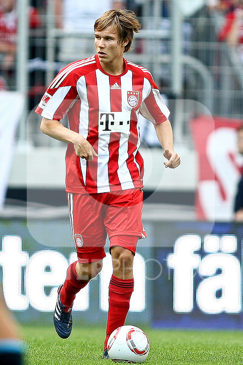 07.08.2010,  Augsburg, GER, 1.FBL, Supercup, FC Bayern Muenchen vs FC Schalke 04,  im Bild Holger Badstuber (Bayern #28)  , Foto: nph /  Straubmeier