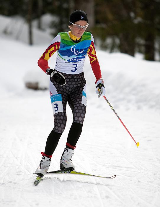 Jody Barber, Vancouver 2010 - Para Nordic Skiing // Ski paranordique.<br /> Jody Barber competes in Para Nordic Skiing // Jody Barber participe en ski paranordique. 15/03/2010.