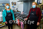 The Tralee Soup Kitchen which is forced to close for rest of January because of the Covid restrictions, pictured l to r: Colette Price and Mary Dolan.