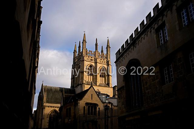 Oxford University<br /> Oxford, United Kingdom<br /> November 28, 2018<br /> <br /> Merton College Chapel.