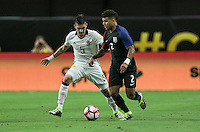 Glendale, AZ - June 25, 2016: The U.S. Men's National team go down 0-1 to Colombia in first half action in the Third Place match at the 2016 Copa America Centenario at University of Phoenix Stadium.