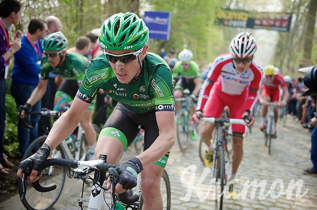up the Taaienberg<br /> <br /> 57th E3 Harelbeke 2014