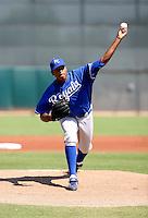 Ivor Hodgson / Kansas City Royals 2008 Instructional League..Photo by:  Bill Mitchell/Four Seam Images
