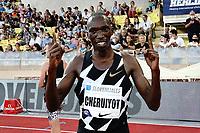 9th July 2021, Monaco, France; Diamond League Athletics, Herculis meeting, Monaco;Timothy Cheruiyot Kenya