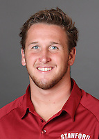 STANFORD, CA - AUGUST 31:  Ryan McCarthy of the Stanford Cardinal during water polo picture day on August 31, 2009 in Stanford, California.