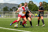 171111 National Women's League Football - Capital v Canterbury