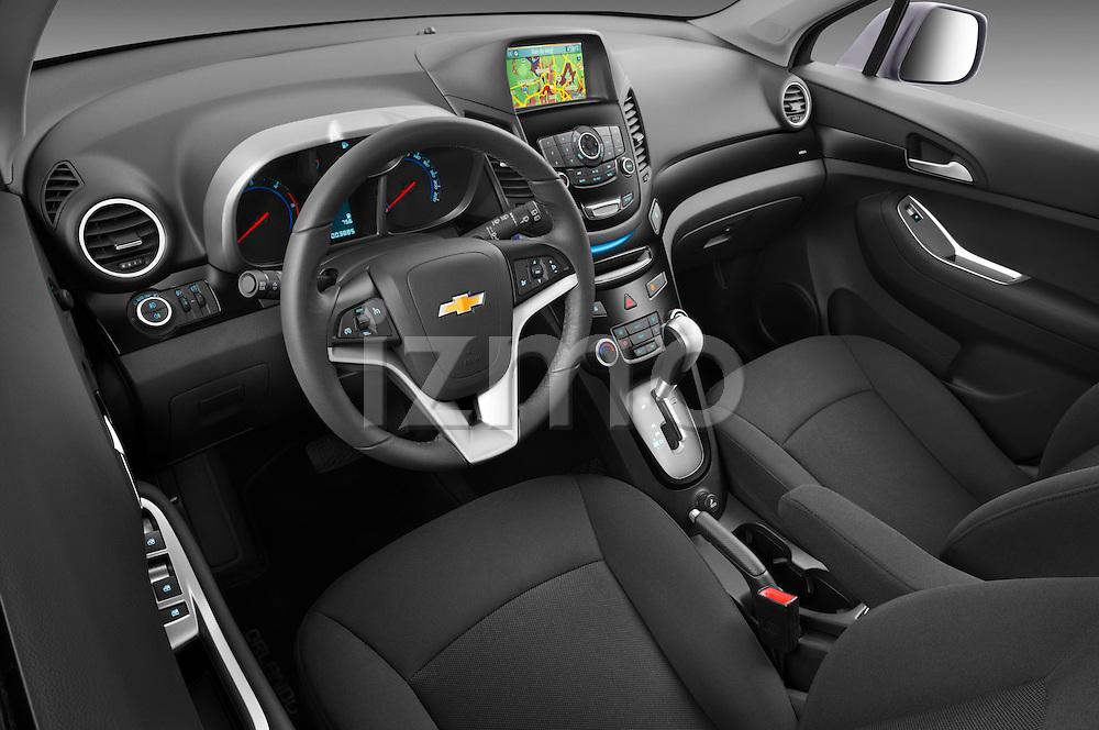 2013 Chevrolet Orlando LTZ+ MPV Driver Dashboard Stock Photo