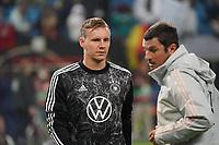 Torwart/Goalie Bernd Leno (Deutschland Germany) - Hamburg 08.10.2021: Deutschland vs. Rumänien, Volksparkstadion Hamburg